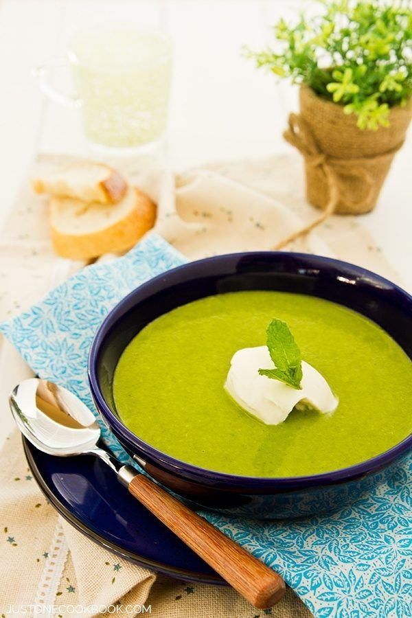 Kale Soup in a bowl.