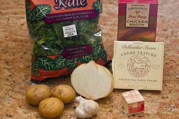 Kale Soup Ingredients