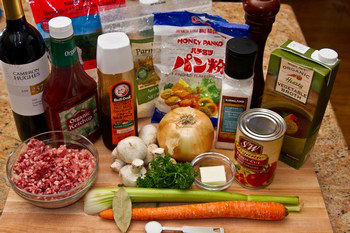 Meat Doria Ingredients