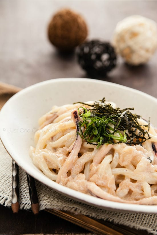 Mentaiko Udon | Just One Cookbook.com