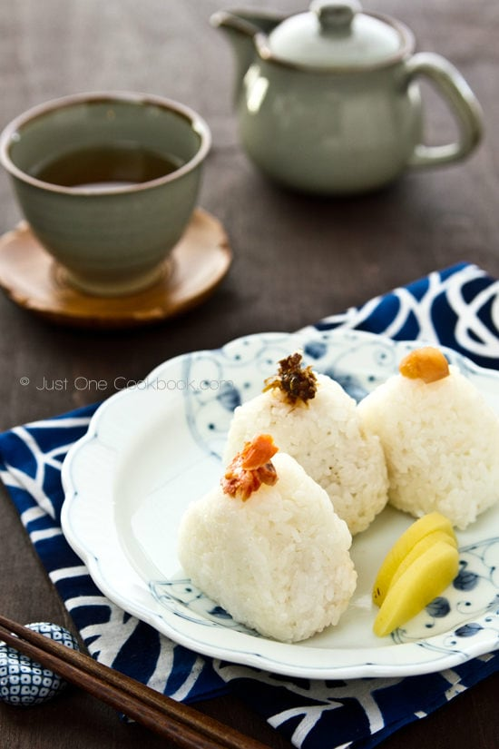 Onigiri Japanese Rice Balls | Just One Cookbook