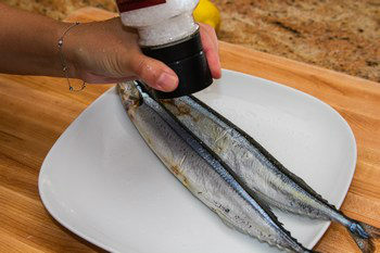 Grilled Sanma 1