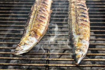 Grilled Sanma 9