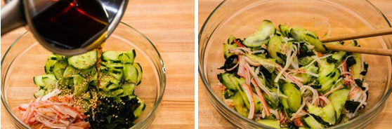 Japanese Cucumber Salad 7