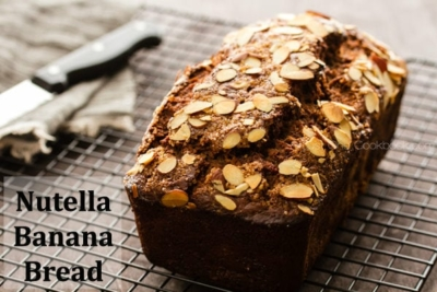Nutella Banana Bread   JustOneCookbook.com