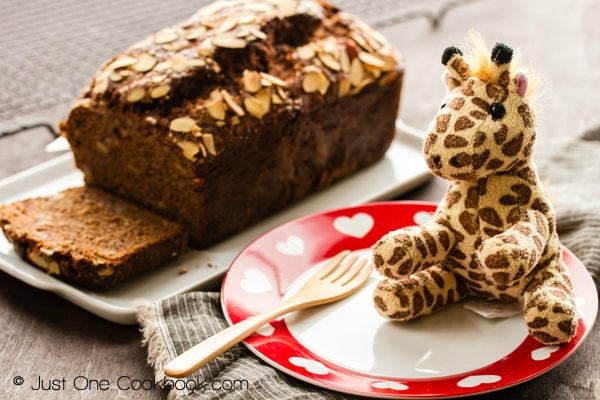 Nutella Banana Bread | Just One Cookbook.com