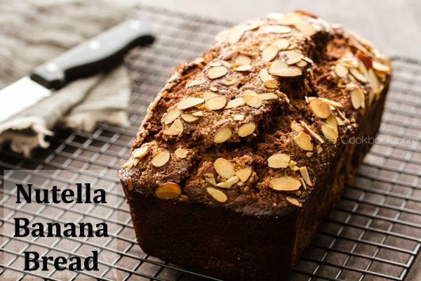 Nutella Banana Bread | Easy Japanese Recipes at JustOneCookbook.com