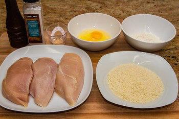 Chicken Katsu Ingredients