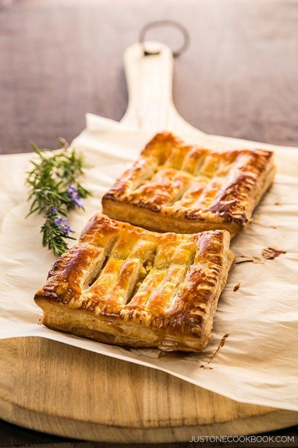 Easy puff pastry apple pie