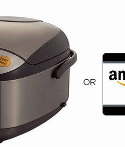 Zojirushi Rice Cooker or $150 Amazon Gift Card Giveaway