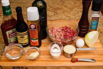 Hamburger Steak Ingredients
