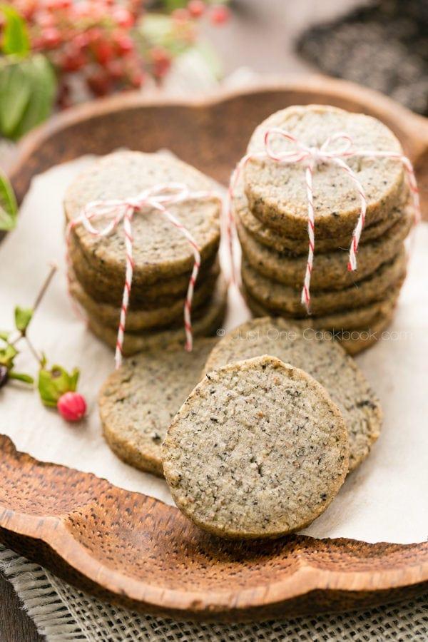 Sesame Cookies | JustOneCookbook.com