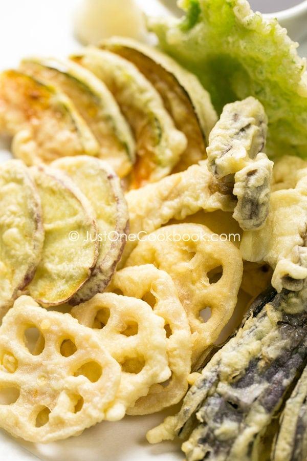 Vegetable Tempura | Easy Japanese Recipes at JustOneCookbook.com