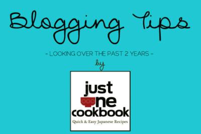 Blogging Tips | JustOneCookbook.com