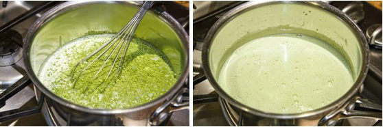 Green Tea Creme Brulee 1