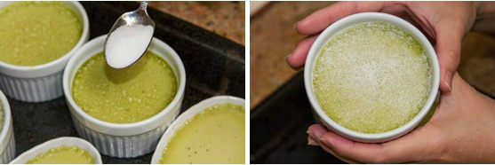 Green Tea Creme Brulee 8