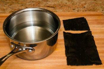 Kombu Dashi Ingredients