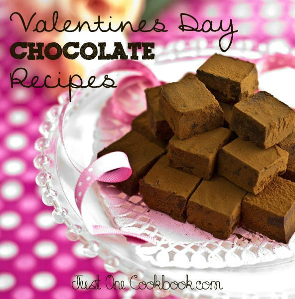 Valentine S Day Chocolate Recipes Just One Cookbook