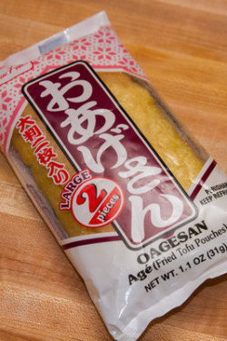 Abura Age (Fried Tofu Pouches)