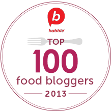 Babble Top 100 Food Mom Blogs 2013