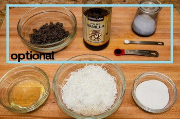Coconut Macaroons Ingredients