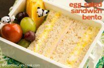 Egg Salad Sandwich たまごサンド弁当