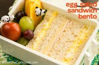 Egg Salad Sandwich Bento | JustOneCookbook.com