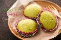 Green Tea Steamed Cake 抹茶蒸しパン