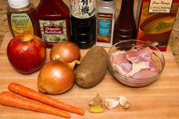 Simple Chicken Curry Ingredients