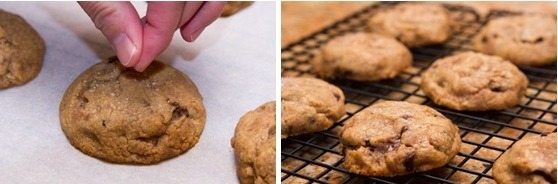 Chocolate Chip Cookies with Nutella 10
