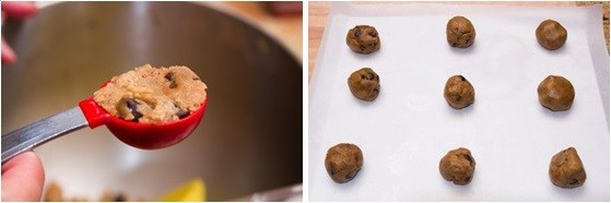 Chocolate Chip Cookies with Nutella 7