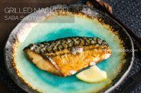 Grilled Mackerel (Saba Shioyaki) 鯖の塩焼き
