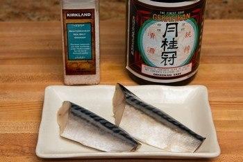 Grilled Mackerel Ingredients