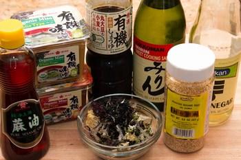 Seaweed Salad Ingredients