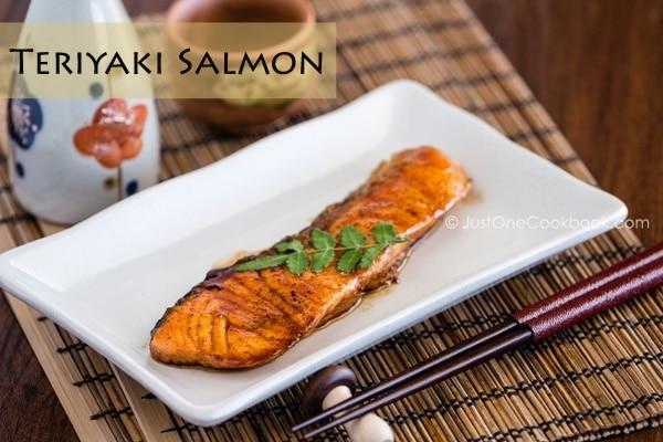 Teriyaki Salmon | Easy Japanese Recipes JustOneCookbook.com