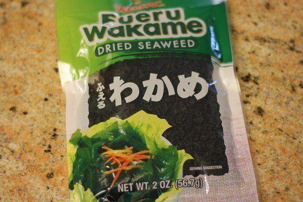 Wakame Dried Seaweed