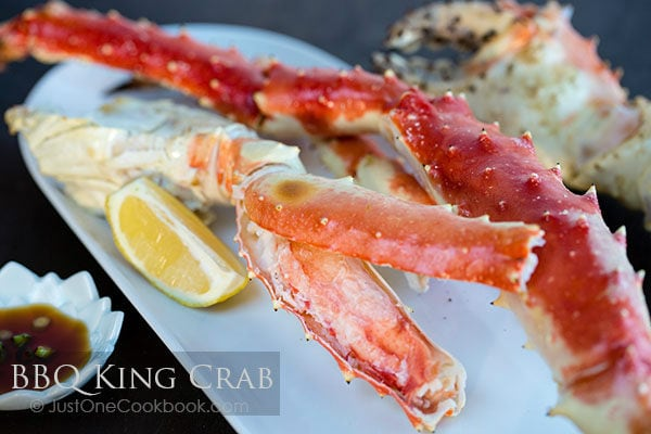 BBQ King Crab | Easy Japanese Recipes at JustOneCookbook.com