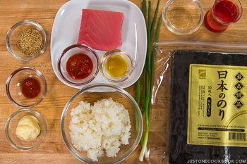 Spicy Tuna Roll Ingredients