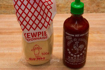Spicy Mayo Ingredients