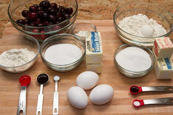 Cherry Bars Ingredients