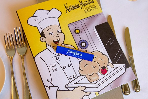 Neiman Marcus Coloring Book