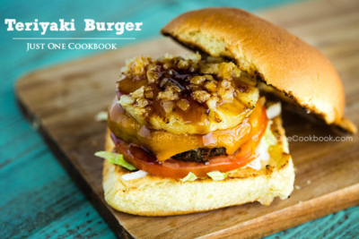 Teriyaki Burger   Easy Japanese Recipes at JustOneCookbook.com