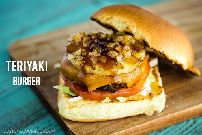 Teriyaki Burger | Easy Japanese Recipes at JustOneCookbook.com