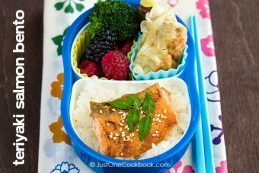 Teriyaki Salmon Bento | Easy Japanese Recipes at JustOneCookbook.com