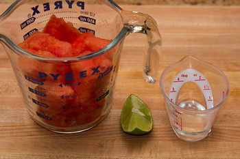 Watermelon Juice Ingredients
