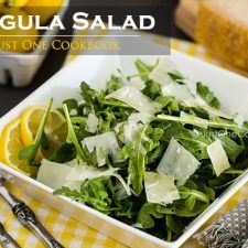 Arugula Salad | Easy Japanese Recipes at JustOneCookbook.com