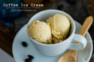 Coffee Ice Cream   Easy Japanese Recipes at JustOneCookbook.com