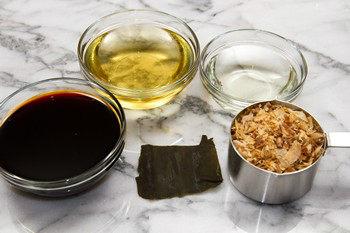 Mentsuyu Ingredients