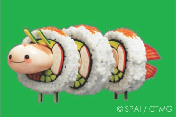Susheep from Cloudy With A Chance Of Meatballs 2 | Easy Japanese Recipes at JustOneCookbook.com