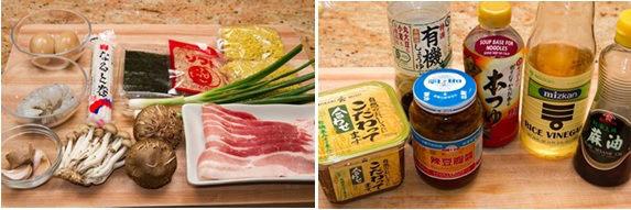 Tsukemen Ingredients